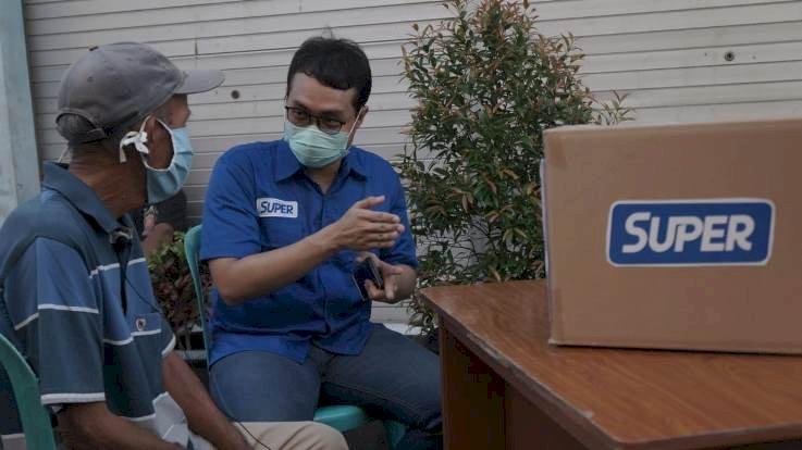Aplikasi Super Ajak Masyarakat Berdonasi Bagi PKL Terdampak Pandemi