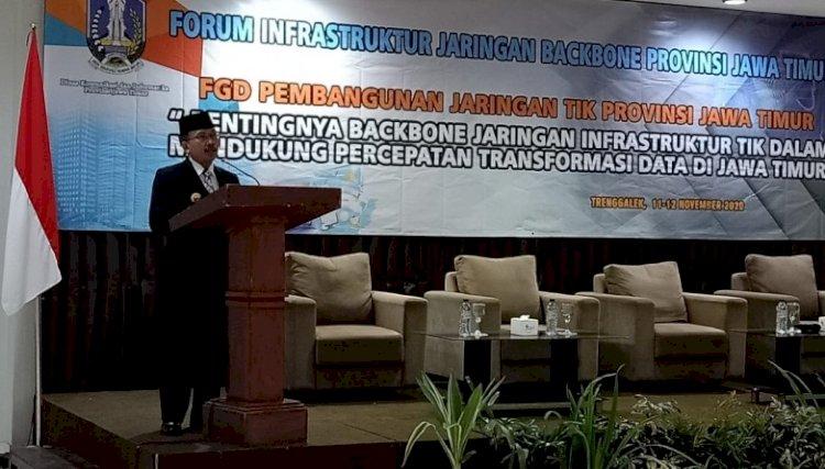 Kominfo Jatim Gelar FGD Infrastruktur TIK, Samakan Persepsi Backbone Interkonektivitas