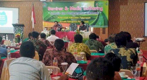 Pemkab Pamekasan Bersama Jurnalis Gelar Seminar dan Gathering