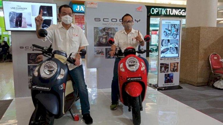 MPM Kenalkan All New Honda Scoopy secara Virtual