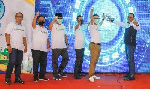 Bupati Pamekasan Baddrut Tamam Luncurkan Melenial Talent HUB 2020