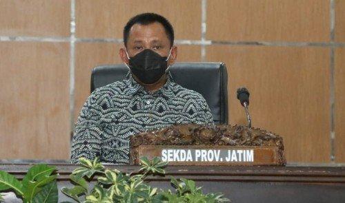 Sekdaprov Heru : Gubernur Khofifah Rutin Melaksanakan Pemeriksaan Swab