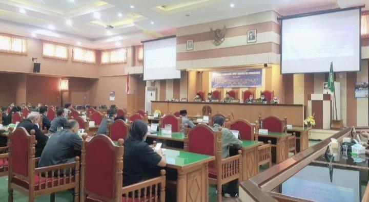 Pengambilan Keputusan R-APBD 2021 Kabupaten Ponorogo Diundur
