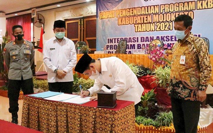Wakil Bupati Mojokerto Minta Seluruh Penyuluh KB Tepat Sasaran
