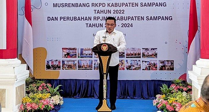 Bappelitbangda Gelar Musrenbang RKPD 2022 dan Perubahan RPJMD 2019-2024