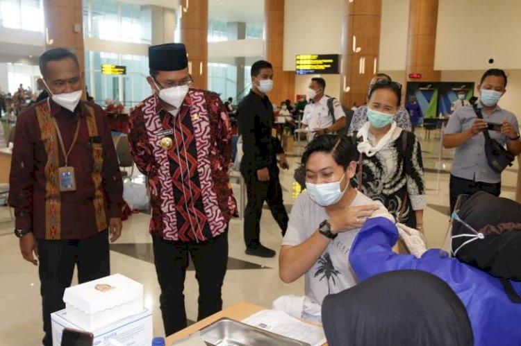 Usai Petugas Bandara, Pekerja di Bungurasih Bakal Divaksin