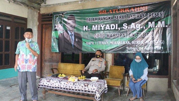 Serap Aspirasi, Ketua DPRD Tuban Ingatkan Pentingnya Jaga Prokes Covid-19