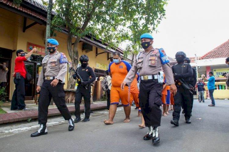 Operasi Pekat Polres Jombang RIngkus 187 Penjahat