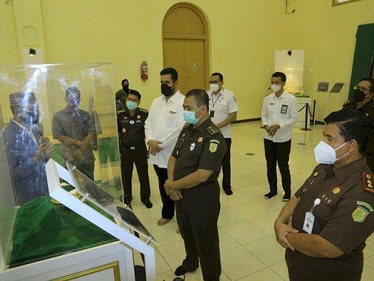 Inspektur V Kejagung Berkunjung Ke Museum Rasulullah