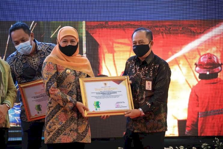 PLN UP3 Mojokerto Raih Penghargaan SMK3