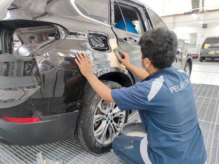 Servis Body & Paint Peugeot Seharga Premi Asuransi