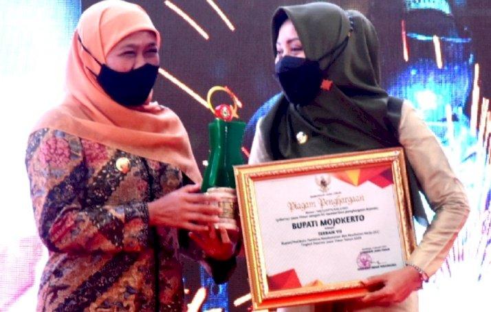 Bupati Mojokerto Raih Penghargaan sebagai Pembina K3