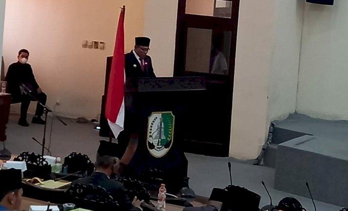 Bahas LKPJ Bupati Tahun 2020, DPRD Sampang Bentuk Pansus